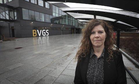 Nina Røvik, rektor ved Bodø videregående skole.