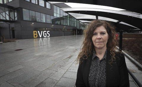 Rektor ved Bodø videregående skole, Nina Røvik. Foto: Tom Melby
