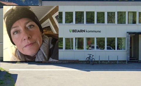 Ny hverdag: Smittevernoverlege i Beiarn, Hege-Kristin Aune Jørgensen må etter mye forberedelse nå ta fatt på en ny hverdag med koronasmitte i kommunen. Det er spesielt en ting som skaper utfordringer nå.