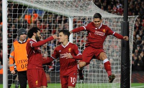 Salah, Coutinho, Firmino og resten av Liverpool er steingode når de får styre kampene. Og det skal de jo hjemme mot Swansea 2. juledag!