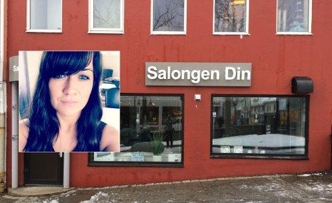 Eier og daglig leder Line Røsvoll hos Salongen Din i Bodø sentrum innrømmer det er tøffe tider i frisørbransjen.