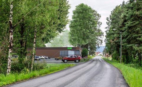 VERN ELLER UTBYGGING? Steinberg Handelseiendom AS står bak planene om Kiwi-butikk i den østlige delen av Steinberg.