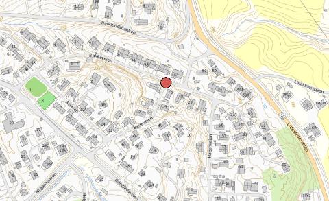 GPS-sporingen til hjullasteren som ble stjålet fra byggeplassen til den nye brannstasjonen i Ytre stoppet i krysset Beiteveien/Bakkeveien på Flateby.