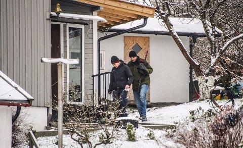 PST aksjonerte mot 24-åringens bolig på Greåker i vinter.