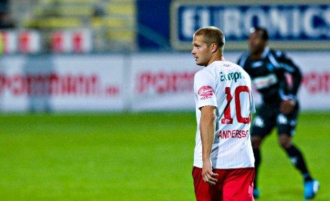Overtar Arendal: Mattias Andersson tar over etter Knut Tørum. (Foto: Erik Hagen)