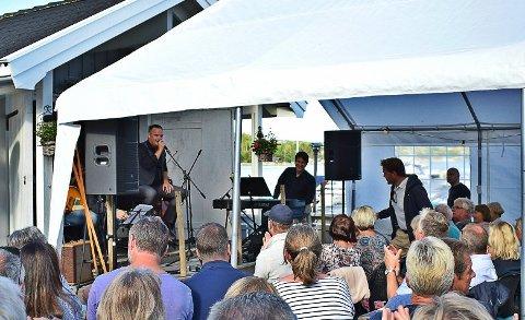 Suksess: Odd René Andersen ble en suksess på Ullerøy i fjor. I år er festivalen utvidet til seks dager.