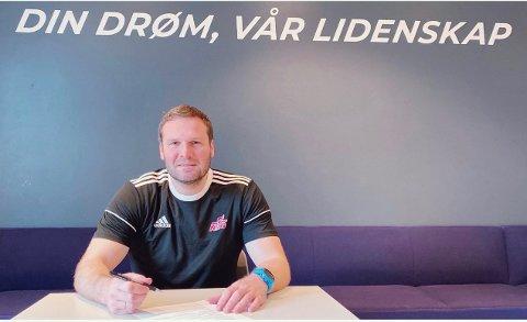 BYTTER JOBB: Geir Daniel Larsen blir sportssjef på NTG (Norges Toppidrettsgymnas) Bodø håndball fra 1.august.