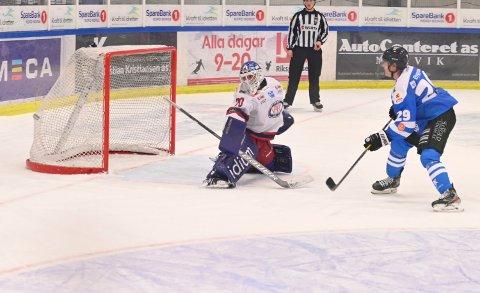 GODE: Narvik hockey har vært god og heldig med smittevern, viser liste.
