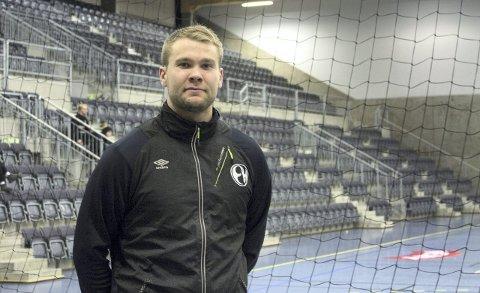 Spiller i toppen: Petter Øverby fra Grue deltok i håndball-EM i januar, til vanlig spiller han på A-laget til Elverum.Foto: Oda MArtine Kordahl