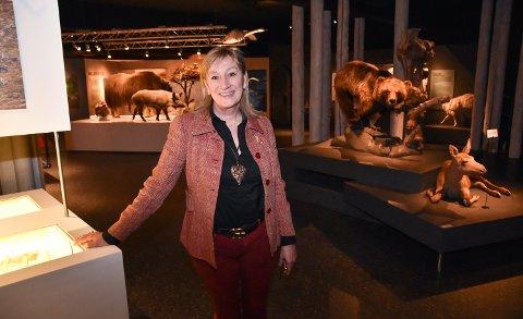 NINAS NYE HVERDAG: Nina Bogerud Caspari stortrives som prosjektleder ved Anno-museene i Elverum.
