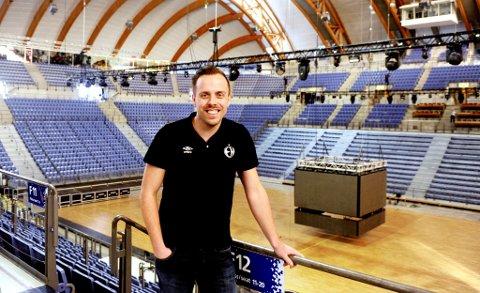 Kalle Björkman i Elverum Håndball møtte en del motbør på ideen om å flytte Champions League-kamper til Håkons Hall. Det er blitt en suksess.