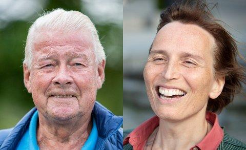 Carl I. Hagen og Karina Ødegård representerer de partiene som flest velgere i Oppland sier de IKKE vil stemme på.