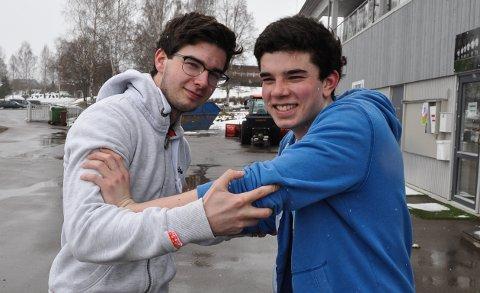DUELL: Brødrene Marius og Mikkel Bølset Gisleberg gleder seg til å teste formen og hvem som er best i Viggaløpet.