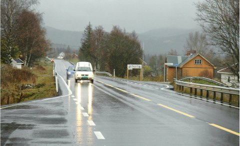 RASKERE: Vestre Toten kommune har ingen bemerkninger til fartsøkning forbi Blå Kors på Eina.