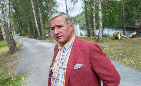 FIKK NEI: Christen Sveaas har fått nytt avslag i Viker gård-saken.