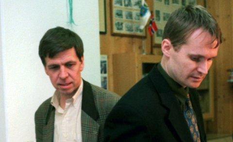 KONFLIKT: Samarbeidsproblemene mellom ordfører Carsten Dybevig (th) og varaordfører Odd Arild Gjerlaug preget perioden 1995–1999.