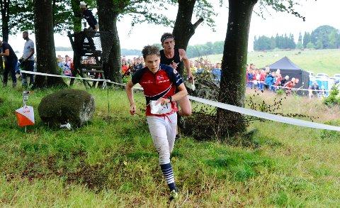 LEVERTE: Niels Christian Hellerud leverte en god førsteetappe for Norge 2, som løp inn til en sterkt 4. plass på herrenes stafett.