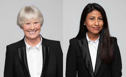 FRA HAMAR: Grethe Horntvedt og Hedda Dolva deltar i serien.