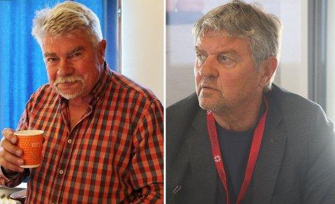UENIGE: Terje Kollbotn (Raudt) ber resten av kommunestyret om å snu i spørsmålet om konkurranseutsetting av pensjon. - Vi må snu hver stein, mener Trygve Bolstad (Ap).