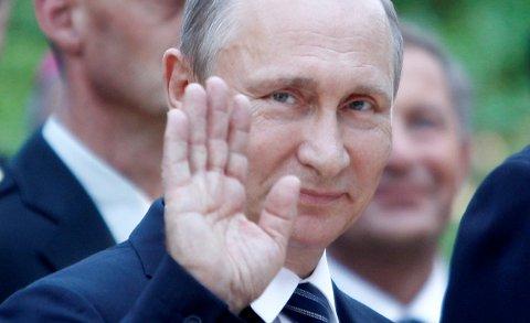 Russlands president Vladimir Putin. Foto. Srdjan Zivulovic / Reuters / NTB scanpix