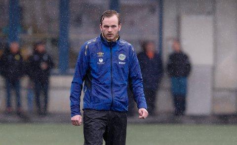 Djerv 1919-trener Endre Eide.