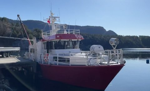 FORTSETTER: Borgøy-båten og Tysvær kommune får 500.000 kroner for å videreføre dagens ordning ut året.