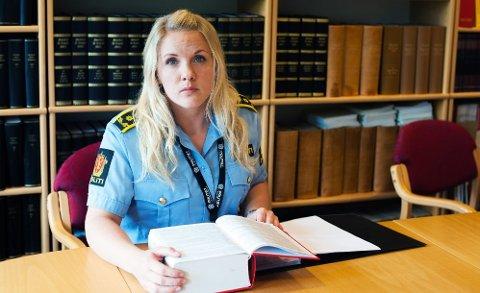 ANKER: Politiadvokat Kaja Agersborg Jørgensen mener straffeutmålingen mot mannen som slo seg vrang på et fly på vei til Mosjøen er for mild.