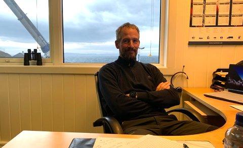 Roy Tonny Johansen gleder seg til å kunne doble arbeidstokken og om ikke lenge ta i bruk et flunkende nytt notbøteri.
