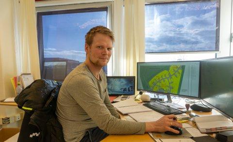 NOK Å GJØRE: De 20 ansatte hos Nord Bygg og Betong AS kommer ikke til å bli arbeidsledig med det første. Nå har Magnus Gran, daglig leder, lagt ut 53 nye boenheter ut til høring.
