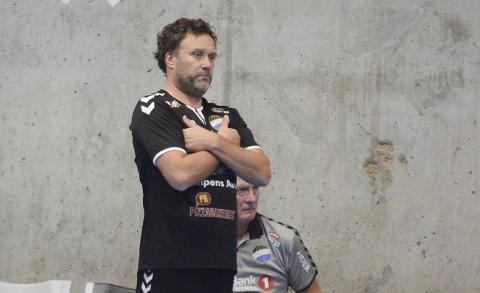 PÅ RIKTIG VEI: Paul Gundersen hadde håpet på noe bedre resultater i starten av sesongen, men sammen med trenerkollega Terje Andersen er han tydelig på at de er på riktig vei, og at laget vil være med i toppen.