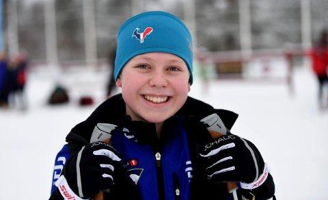 SUVREN: Mathea Tegdal vant 16-årsklassen i Gravset-rennet.