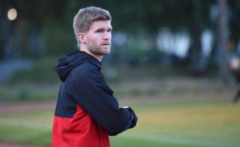 SPENT: KIF-trener Harald Sylfest Gaard håper ting snart normaliserer seg.