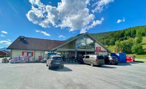 Slik ser det ut på Coop i Kirkebygda i dag. Nå vil man doble salgsarealet.