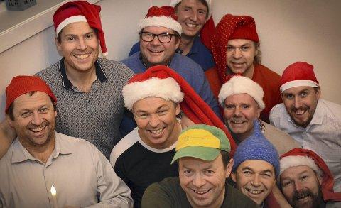 Skal trøkke til: Reistadlia mannskor lover at jula skal kjennes på kroppen når de inviterer til Adventaften tirsdag.