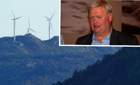 ETIKK: Jan Kristensen har etterlyst etikken hos Fred. Olsen Renewables, som fortsetter arbeidet med vindkraftprosjekter, blant annet i Audnedal, også etter at de berørte kommunene sa nei.