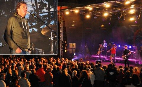 FESTIVALEN SIN: Festivalsjef Tony Fjærgård ser fram til den 14. festivalen i rekken.
