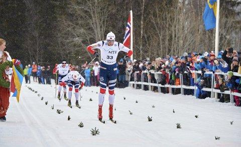 VENN AV RENNET:  Petter Northug har vunnet langløypa i Flyktningerennet fire ganger, uten at det har kostet arrangørene av rennet noe i startpenger. - Vi svir ikke av mye penger på toppløpere, som noen kanskje tror, sier rennelderen.