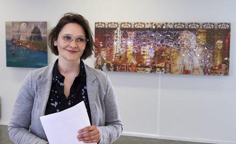 MILLIONTILSKUDD: I dag ble det kjent at Kunstmuseet Nord-Trøndelag får ytterligere en million kroner til innkjøp av kunst. Det setter leder for museet, Sara Cornelia Greiff, stor pris på.