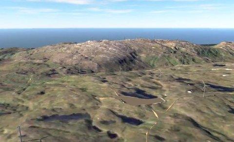 VINDKRAFT: Vindkraftparken på Kvitfjell og Raudfjell blir Norges nest største. Nå står slaget om hvilken adkomstvei utbyggerne kan bruke.