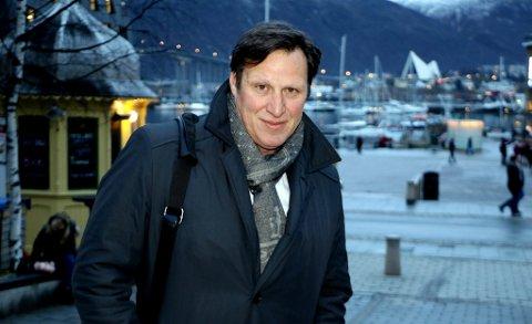TROMSØ-BESØK: Tom Tvedt vil ikke følge Knut Bjørklunds oppfordring om å gå av, men ønsker å stille til gjenvalg som idrettspresident i mai 2019. Tvedt mener man må komme seg videre etter de betente debattene rundt et norsk OL etter at Tromsø likevel ikke ble kandidat for ti år siden.