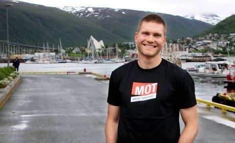 NY JOBB: Savnet etter familien i Tromsø ble stort under oppholdet i Romania for Gudmund Broks Kongshavn. 1. august starter han i sin nye jobb, med kontor på Alfheim.