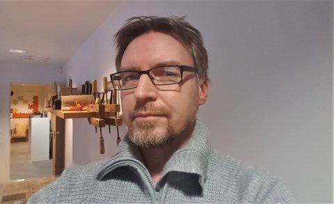 NY DAGLIG LEDER: Per Helge Bøe ble fra nyttår daglig leder i Røe Trevare Coriform i Levanger.