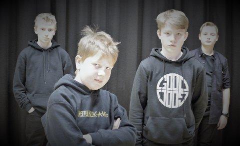 KLARE: Etter å ha deltatt på VM i Trollrock og Ung i Trollrock, er de fremadstormende valdresrockerne i Nasty Worms endelig å finne på hovedprogrammet.