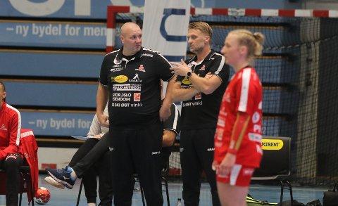 Atle Stenvik (t.v.) og Lars Abelsen har signert for ny klubb.