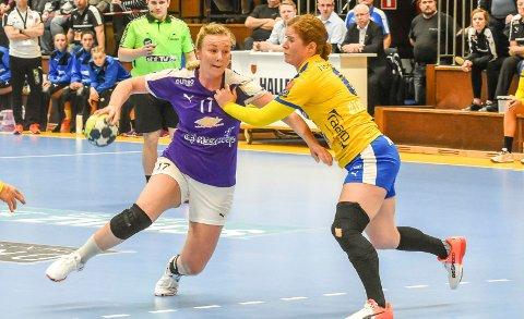 Klar for LHK: Emilie Christensen er Larvik Håndballklubbs tredje nysignering.