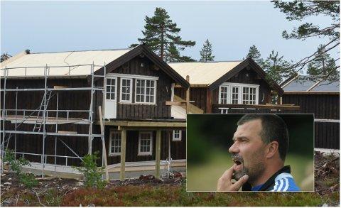 SINT OG OPPGITT: Stian Sebuøygard er én av flere som frykter at Budor-området blir ødelagt med storstilt hytteutbygging.