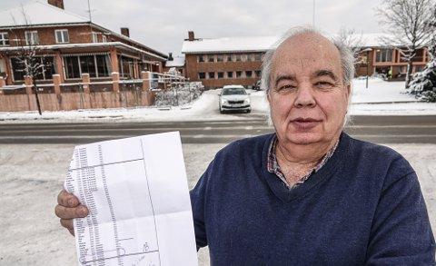 IKKE BRA: – Lista over kommuner som ikke har søkt, er alt for lang.  13 kommuner fra gamle Hedmark er på den lista, sier Per Roar Bredvold, som varsler at han vil ta saken opp i førstkommende kommunestyremøte i Åsnes.
