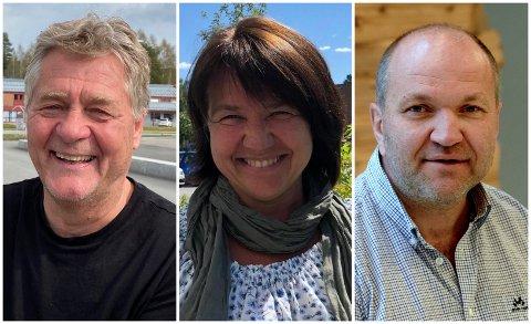 DAGENS TRIO: Tord Arnesen (fra venstre), Lena Marin Henriksen og Thorleif Skavern.
