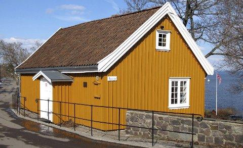 UTGANGSPUNKTET: Her er huset som er bakgrunn og fundament for utstillingen Munchs hus 2018, som åpner på Haugar lørdag.