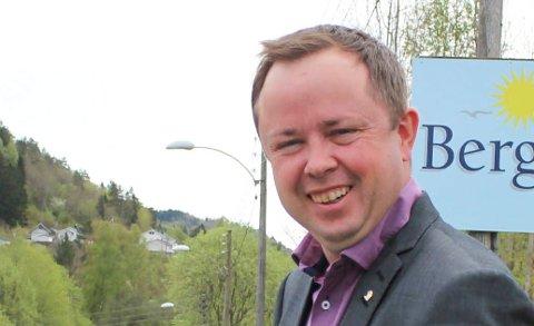 TRIST: Ordfører Robin Kåss' oppdatering på Facebook var nitrist lesning.